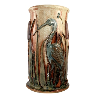 Umbrella Stand with Bird